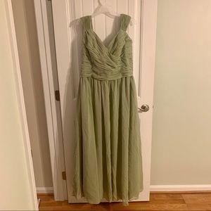 Sage Green Formal Dress